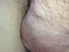 more of her hairy asshole & hairy pussy