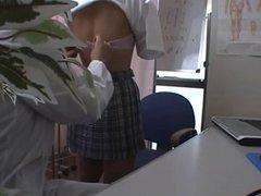 JAPANESE VOYEUR HIGH SCHOOL PHYSICAL CHECK UP HIDDEN CAM