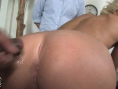 Slut wife owned by BBC in front of cuckold