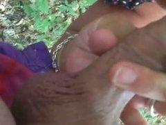 gaterie dans les bois par rousse mature
