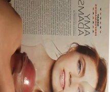 Amy Adams Cum Tribute Bukkake No. 1