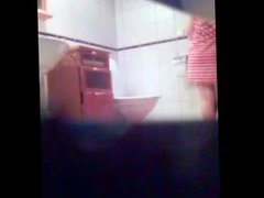 Amateur teen toilet shower pussy ass hidden spy cam voyeur