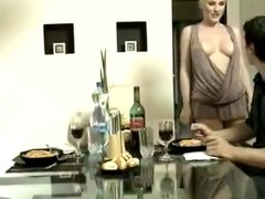 Hot blond euro slut anal facial tits VDV