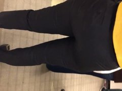 Nice round Mexican ass in jeans