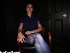 Gloryhole Secrets Buff babe Jewels Jade Interview in the GH