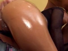 Awesome Interracial Anal Ass to Mouth Facial
