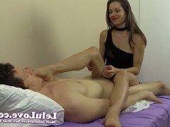 Lelu Love-Feet On Face Handjob