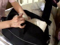 Bukkake for japanese nurse