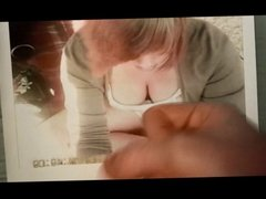 roryc hot cum tribute to Wolter's Downblouse Bitch 175