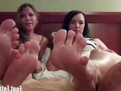 Worship Mandy and Princess Anna's feet