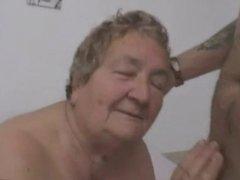 Italian Granny is Fucked