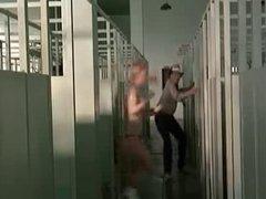 Locker room voyeur