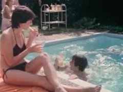 Fuck by the pool