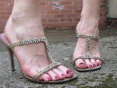 high heel catwalk