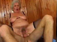 Horny Granny Fucking
