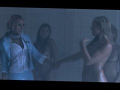 Anette Dawn in Lesbian Orgy