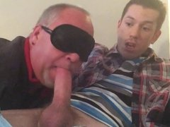 Gay uncle Sucks not his High nephew's Cock