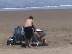 big ass on beach Playa Voyeur 2014
