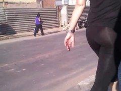 Sheer Leggings In Street