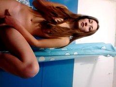 Home video - girl masturbate