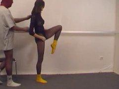 gymnast in the gym