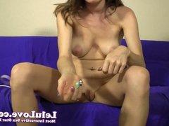 Lelu Love-Vibrator Masturbation Instruction 1st CEI