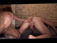Malik and Pedro Hit the Cum Shower