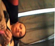 Megan masturbating on cam
