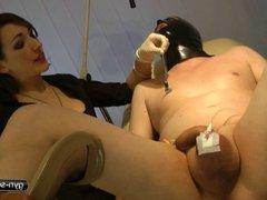 Kinky Nurse Play - Pain for his Dick
