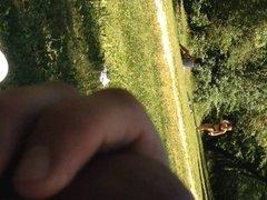 2 girls in park