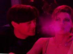 Gina Gershon and Elizabeth Barkley nude scene from Showgirls