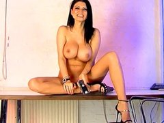 Lilly Roma in the Studio 66 office
