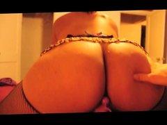 amateur big ass latina with anal beads - blowjob, anal, fuck