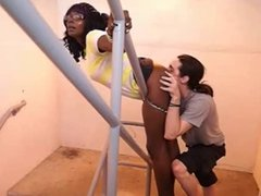 Hot Black Babe Gets Her Perfect Ass Licked Out