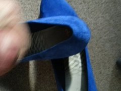 cumming in my wife's best friends shoes