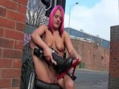 Freaks of Nature 161 Lesbian Wheelchair Girl