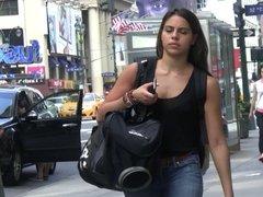 Just Good Lookin Babes Walking in NYC