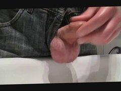 wash littel cock and cum