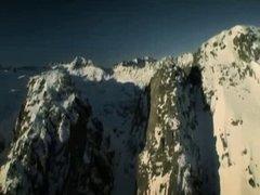 Babe licks cum from Snowboard