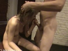 Naughty and wild kitchen sex
