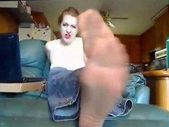 Milf Feet Joi With Nylons!