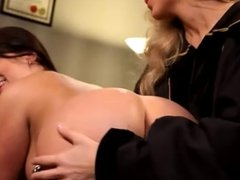 Mature Woman Seduces Younger Girl...F70