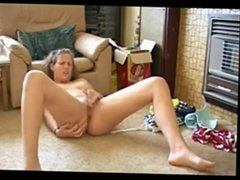 Amateur blonde Masturbation