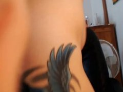 Webcam - Busty, curvy 19 year old teasing & spanking ass