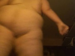 My BBW Ex Dances naked for me!