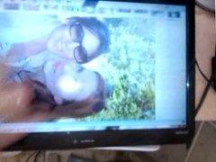 Cumming On Simone Simons And Elize Ryd