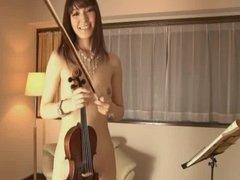 Yuria Tominaga - Naked musical performance - Part 1
