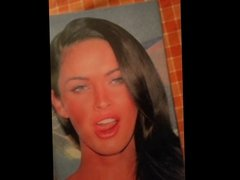 Cum tribute to Megan Fox 1