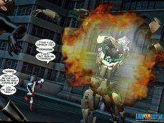 3D Comic: The Cockroach. Episode 8