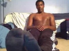 chatroulette straight male feet - basketball player